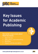 Key Issues for Academic Publishing